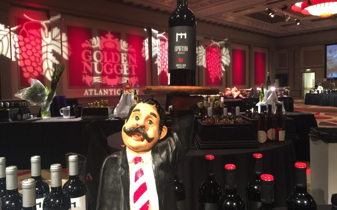 International Winefest at the Golden Nugget Casino in Atlantic City, New Jersey